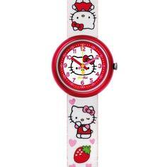 Reloj Flik Flak HELLO KITTY. Antes 35 ahora: 26€. Más relojes #flikFlak en  nuestra #tienda #outlet #online www.entretiendas.com