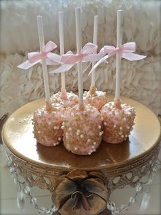 Edible Wedding Favor Marshmallow Pops Frost The by FrosttheCake