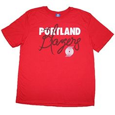 544768bcc85 BIG TALL NBA PORTLAND TRAIL BLAZERS Mens Athletic Short Sleeve T Shirt 2XL  Red -- Be sure to check out this awesome product.