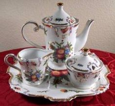 This website has great articles on tea time and available tea sets (pictured: Yorkshire Tea Set)