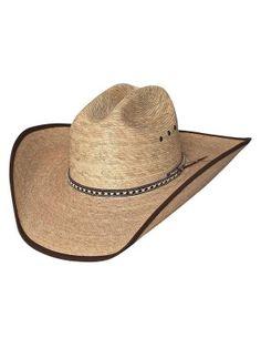 Bullhide Wide Open - (15X) Straw Cowboy Hat Mens Cowboy Hats e4da0bb9ce80