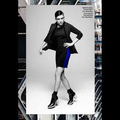 #bailey44 #marinamall #greenbird #couture #abudhabi #abudhabistyle #abudhabifashion #abudhabistyle #dubai #dubaifashion #dubaistyle #womenswear #fall2013 #winter2014 #fw2014 #prefall #pixie #fashionista #striped #striped shirt #blackandwhite #pencilskirt #blackandblue #chunkyheel #blackjacket #blackblazer #jacket #blazer #leather