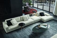 10 Great Modern Sofas Photos | Architectural Digest Living Room Sofa Design, Living Room Designs, Mondrian, Sofa Furniture, Furniture Design, Outdoor Furniture, Outdoor Decor, Modern Sofa Designs, Contemporary Sofa