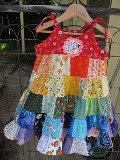Rainbow Twirler Dress http://www.flickr.com/photos/marymademe/3531037091/