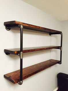 Industrial Shelving by PrecisionDesignsCo on Etsy