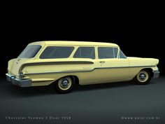 1958 Chevrolet Yeoman 2-door Wagon
