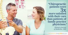 Chiropractors not only help you when you aren't feeling well. We also help you promote your health when you are feeling your best.