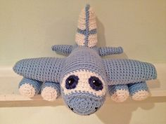 Ravelry: Red the Airplane amigurumi pattern by Melissa's Crochet Patterns