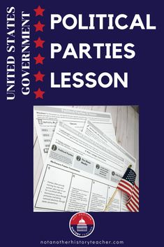 Get your students politically engaged with this amazing political party Websearch lesson. It is perfect for distance learning! Students will take political party quizzes, research key issues of the main parties, and write a response on what party they think they belong to based on the web search results. This amazing lesson will get your students excited and discussing political parties and candidates. This is a wonderful activity to enhance any civics course!
