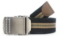 Sports Car Style Buckle Men Canvas Belts High Quality Male Straps Military Equipment Belt Men's Tactical Luxury Belts