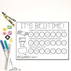Bedtime Chart, Toddler Chart, Toddler Bedtime, Sticker Chart, Free Preschool, Preschool Printables, Toddler Schedule, Charts For Kids, Toddler Learning Activities
