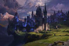 Dark Kingdom, Aaron Limonick on ArtStation at http://www.artstation.com/artwork/dark-kingdom