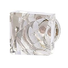 Off Square Faceted Clear Knob by Jubilee Collection. This square cut faceted crystal is simplicity and elegance. Cabinet And Drawer Knobs, Dresser Knobs, Knobs And Handles, Knobs And Pulls, Cabinet Hardware, Drawer Pulls, Cabinet Handles, Shabby Chic Knobs, Decorative Door Knobs