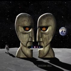 """the fourteenth and final studio album by Pink Floyd. It was released on 28 March \""""Cluster One\"""" (Instrumental) N/A David Gilmour, Ri. Pink Floyd Music, Pink Floyd Albums, Atom Heart Mother, Rock Album Covers, Richard Wright, Great Bands, Classic Rock, Good Music, Amazing Music"""