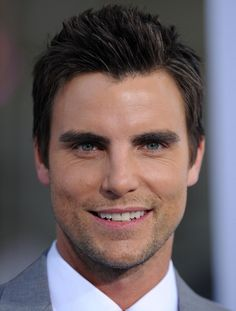 """Colin Egglesfield Photos - World Premiere of """"Something Borrowed"""".May - """"Something Borrowed"""" World Premiere Colin Egglesfield, Beautiful Men Faces, Gorgeous Men, Beautiful People, Beautiful Smile, Absolutely Gorgeous, Cute Celebrities, Celebs, Michigan"""