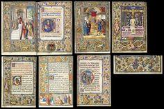 THE ELISABETA PEIXO HOURS, use of Rome, in Latin and Catalan, ILLUMINATED MANUSCRIPT ON VELLUM