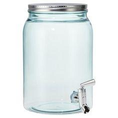 Threshold™ Embossed Mason Jar with Metal Lid - T... : Target Mobile