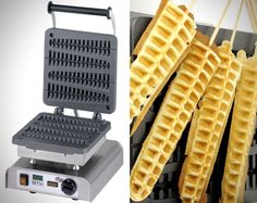 Make Waffles On A Stick with this Machine