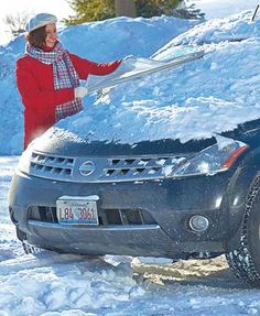 The multifunctional All-Weather Windshield Cover keeps your front window clear and your car comfortable. Eliminate the hassle of cleaning ice and snow of