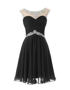 Short Prom Dresses Sexy Homecoming Dress for Juniors Birthday Dress Black