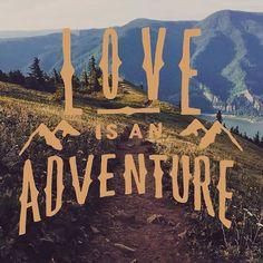 Love is an adventure. Design by @Isaac.Villanueva // Made with the @vrsly app. #vrsly #madewithvrsly #love #adventure #god #godisgood @vishnurajan