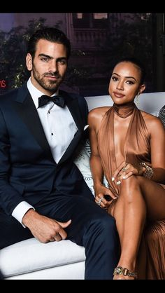 Classy Interracial Couple in Love Interacial Love, Interacial Couples, Black Woman White Man, Black Love, Black And White, Black Girls, Mixed Couples, Couples In Love, Interracial Family