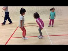 PE Curriculum for Kindergarten Age Children with Sport Games and Activities - YouTube