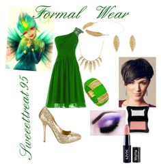 Tooth Formal Wear by sweeettreat95 on Polyvore featuring polyvore fashion style Miu Miu Charlotte Russe Blu Bijoux Illamasqua NYX clothing tooth rotg formalwear