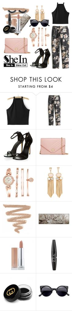 """""""Pink vibes"""" by eyesofhorus ❤ liked on Polyvore featuring J.Crew, Tory Burch, Anne Klein, Atelier Mon, Urban Decay, NYX, Gucci, Spring, contest and Pink"""