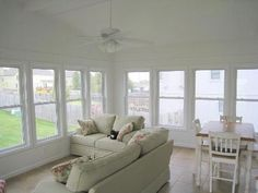 Four Season Sunroom with Tile Floor - 3 & 4 Season Rooms Photo Gallery ...