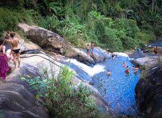 Pai slide waterfall #pai #thailand #guide