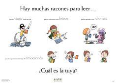 Bibliotecas escolares en red - Albacete: Por qué leer Literatura infantil y juvenil LIJ