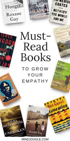 Want a good story based in reality? The fiction and nonfiction books on this list from Mind Joggle are all based on struggles that people face in real life. Reading these stories will increase your empathy and help you understand the struggles of others. #books #booklist #empathy Literary Fiction, Fiction And Nonfiction, Reading Lists, Book Lists, Good Books, Books To Read, How To Read Faster, Popular Books, History Books