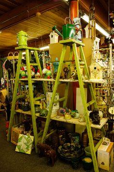 Garden Gift Display at Henery's Garden Center, Port Townsend, Washington