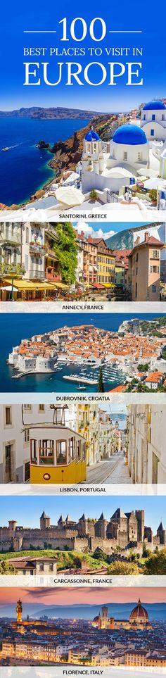 Discover the best places to visit in Europe. Don't miss out and click the pin to find the best things to do and see in Europe in our comprehensive travel guide.