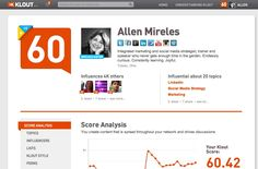 Today's post is an intro to Klout for those who are unfamiliar and for those who know Klout, skip to the end and smile at Klouchbag.com.
