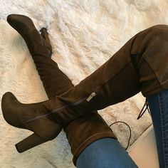 Tied Down Thigh High Chunky Boots https://www.myshoebazar.com/shoes/tied-down-thigh-high-chunky-boots/