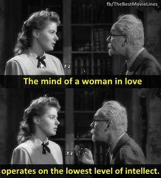 - Spellbound 1945  Ingrid Bergman Gregory Peck Dir. Alfred Hitchcock