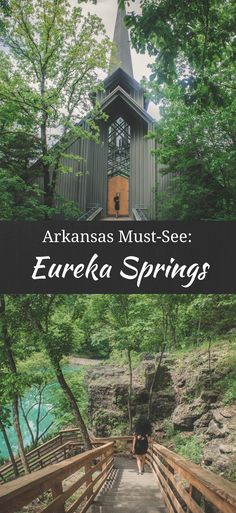 Eureka Springs is a must-see destination in Arkansas. Built into the forested folds of the Ozarks, this mountain town is all things quirky and cute. From Thorncrown Chapel to Blue Spring, there…More West Texas, New Mexico, Wyoming, Arkansas Waterfalls, Arkansas Vacations, Camping In Arkansas, Utah, Ozark National Forest, Eureka Springs Arkansas