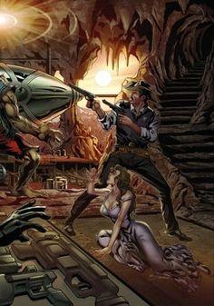 The Devil's Back 2 Variant Cover | Etsy Science Fiction, Devil, Sci Fi, Comic Books, Cover, Etsy, Cartoons, Comics, Comic Book