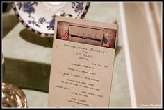 This is a 2nd Class dining ticket from the cruise ship Majestic. A sister ship to the Titanic in the White Star Line. Notice whats on the menu for the night. http://www.maxonking.8m.com