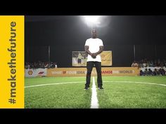 Shell and Akon unveil Africa's first human and solar powered football pitch   Shell #makethefuture - YouTube