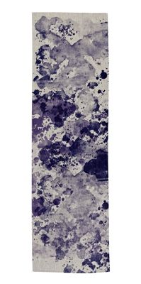 Bonnie and Neil - Table Runner Watercolor Blue    #table #runner #setting