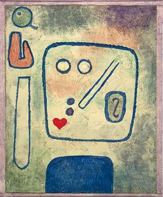 Paul Klee  'Pear Praise'  1939