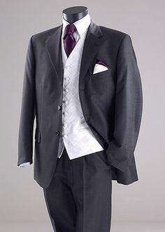 New Wedding Suits Men Grey Purple Bridesmaid Dresses 39 Ideas Best Wedding Suits, Wedding Men, Wedding Attire, Trendy Wedding, Wedding Ideas, Wedding Planning, Wedding Dresses, Purple Wedding, Wedding Stuff