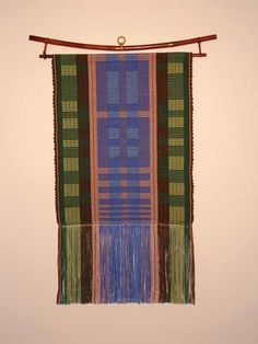 Rep Weave Wall Hanging