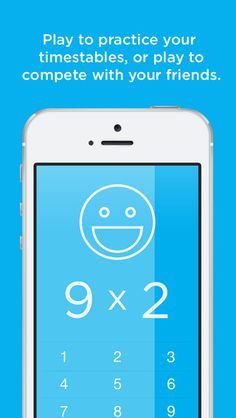 Newton - Multiplication ($0.00 w/iAP options for life lines and slow downs) A strangely addicting, simple, and fun game about multiplication. Play to practice your timestables, or play to compete with your friends.