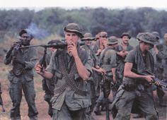 Infantrymen  of 199th Light Brigade 1969