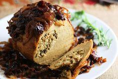 Maple Glazed Tofurky Roast #MapleGlazed #TofurkyRoast