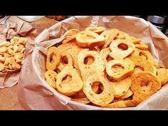 Szoky Rolls kifli chips házilag minden alkalomra / Szoky konyhája / - YouTube Minden, Cereal, Chips, Cookies, Drinks, Breakfast, Desserts, Youtube, Food